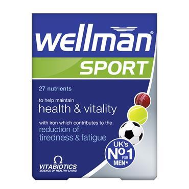 Vitabiotics Wellman Sports Tablets 30 Pack