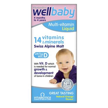 Vitabiotics Wellbaby Multivitamin Liquid 150ml