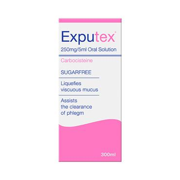 Exputex Sugar Free Oral Solution 300ml