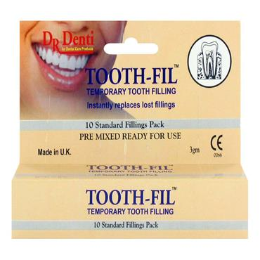 Tooth-Fil Temporary Tooth Filling 10 Standard Fillings Pack