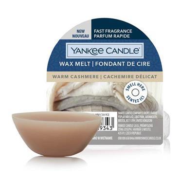 Yankee Candle Wax Melt Warm Cashmere 22g