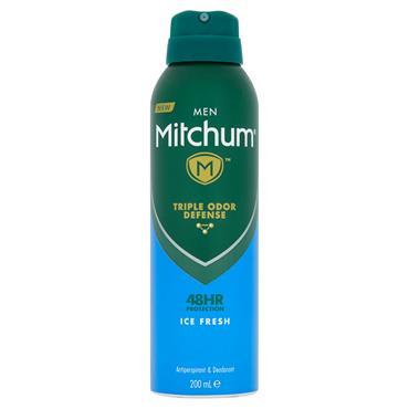 Mitchum Men Advanced Ice Fresh Anti-Perspirant & Deodorant 200ml