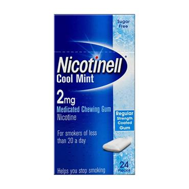Nicotinell Cool Mint 2mg Gum 24 Pack