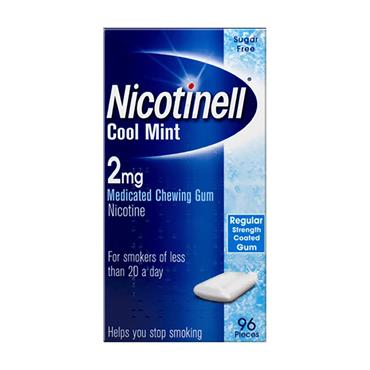 Nicotinell Cool Mint 2mg Gum 96 Pack