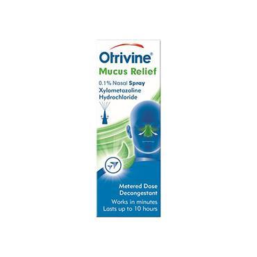 Otrivine Adult Mucus Relief Nasal Spray 10ml