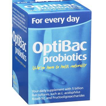 OptiBac Probiotics For Every Day Original 30 Pack