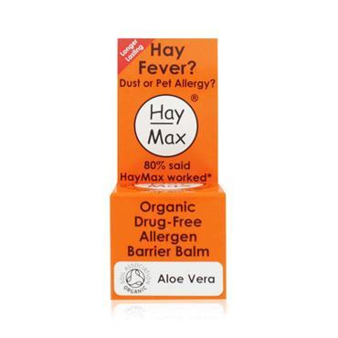 HayMax Aloe Vera Organic Drug Free Allergen Barrier Balm 5ml