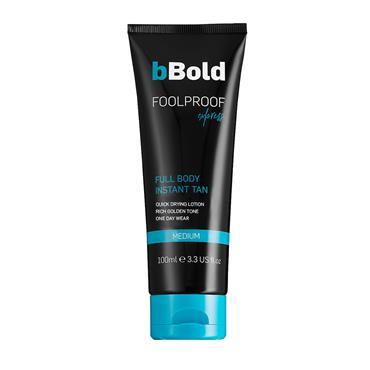 bBold Foolproof Express Full Body Instant Tan Medium 100ml
