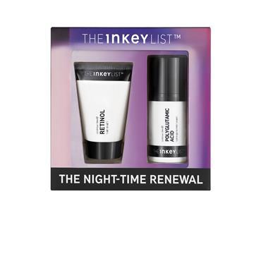 The Inkey List Night Time Renewal Duo Set