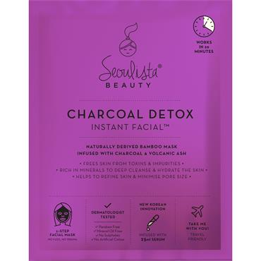 Seoulista Beauty Charcoal Detox Instant Facial