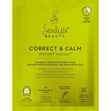 Seoulista Beauty Correct & Calm Instant Facial