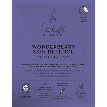 Seoulista Beauty Wonderberry Skin Defence Instant Facial
