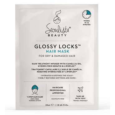 Seoulista Beauty Glossy Locks Hair Mask For Dry & Damaged Hair 35ml