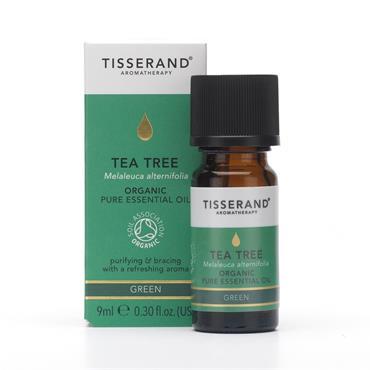 Tisserand Organic Tea Tree Pure Essential Oil 9ml