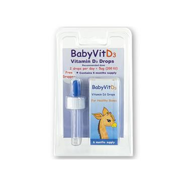 Baby Vit D3 Drops Vitamin D 10ml