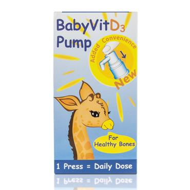 Baby Vit D3 Pump Vitamin D 28ml