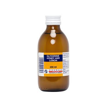 Pinewood Glycerine Honey & Lemon 200ml