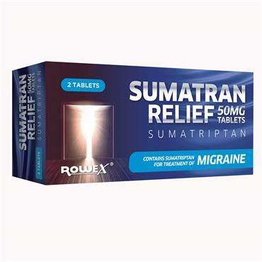 Sumatran Relief 50mg Tablets 2 Pack