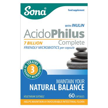 Sona Acidophilus Complete Capsules 60 Pack