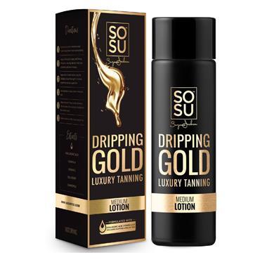 SoSu Dripping Gold Luxury Tanning Lotion Medium 200ml