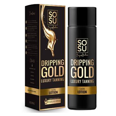 SoSu Dripping Gold Luxury Tanning Lotion Dark 200ml