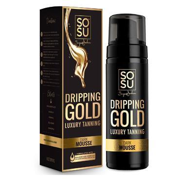 SoSu Dripping Gold Luxury Tanning Mousse Dark 150ml