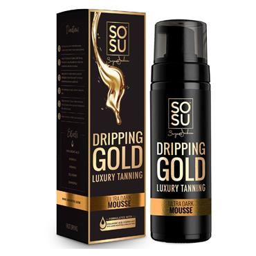 SoSu Dripping Gold Luxury Tanning Mousse Ultra Dark 150ml