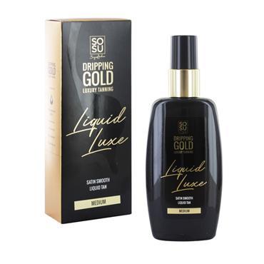 SoSu Dripping Gold Luxury Tanning Liquid Luxe Medium 150ml