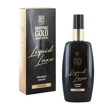 SoSu Dripping Gold Luxury Tanning Liquid Luxe Ultra Dark 150ml