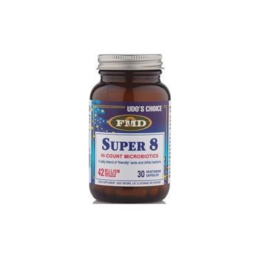 Udos Choice Super 8 Microbiotic 30 Pack