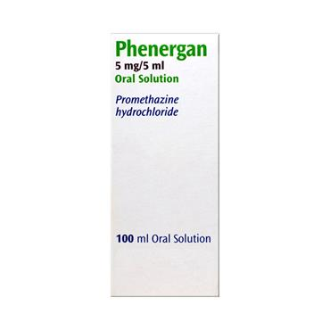 Phenergan Promethazine Oral Solution 100ml