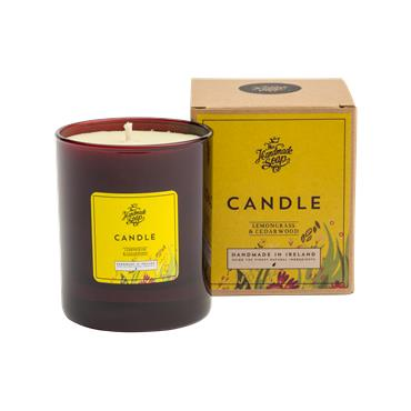 The Handmade Soap Company Lemongrass & Cedarwood Soy Candle