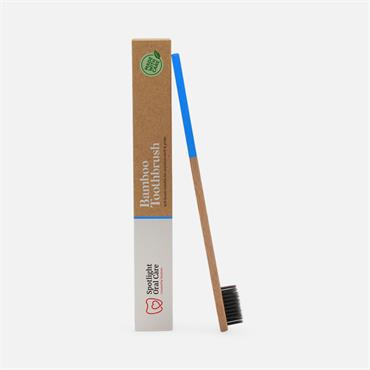 Spotlight Oral Care Bamboo Toothbrush Blue