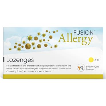 Fusion Allergy Lozenges 24 Pack