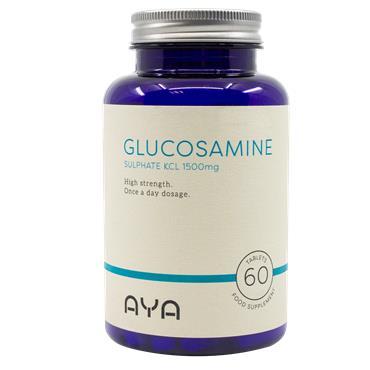 AYA Glucosamine Sulphate KCL 1500mg 60 Tablets
