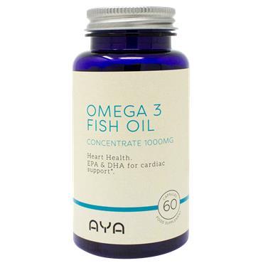 AYA Omega 3 Fish Oil Concentrate 1000mg 60 Capsules