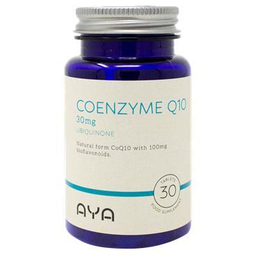 AYA Coenzyme Q10 30mg Tablets 30 Pack