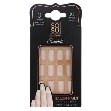 SoSu False Nails By Suzanne Jackson Seashell