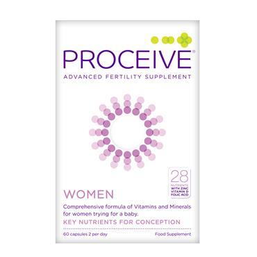 Proceive Women Fertility Supplement 60 Pack
