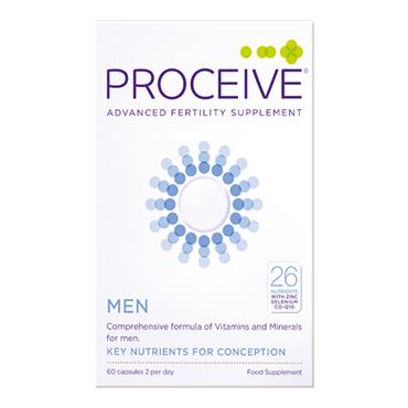 Proceive Tailored Fertility Supplement Conception For Men 60 Capsules