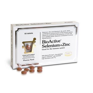 Pharma Nord BioActive Selenium & Zinc Tablets 60 Pack