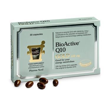 Pharma Nord BioActive Q10 Gold 100mg 30 Pack