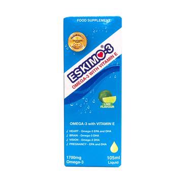 Eskimo-3 Omega-3 With Vitamin E Liquid 105ml