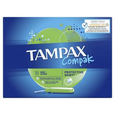 Tampax Compak Super 18 Pack