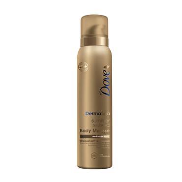 Dove Derma Spa Summer Revived Gradual Self Tan Mousse Medium To Dark Skin 150ml