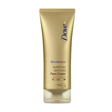 Dove Derma Spa Summer Revived Gradual Tanning Face Cream Medium To Dark Skin 75ml