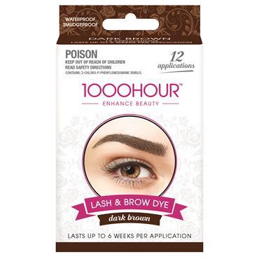 1000 Hour Lash & Brow Kit Dark Brown