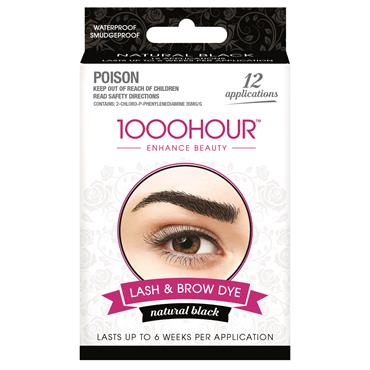 1000 Hour Lash & Brow Kit Black