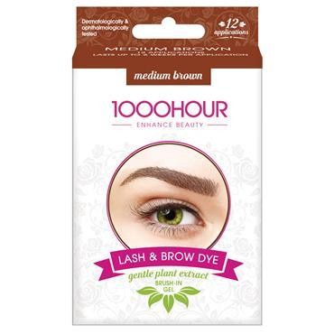 1000 Hour Lash & Brow Kit Medium Brown