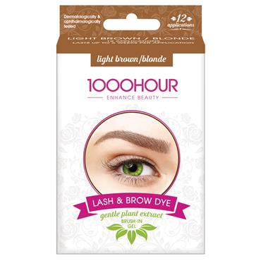 1000 Hour Lash & Brow Kit Light Brown